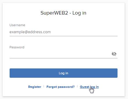 Configure Guest Access - SuperSTAR Documentation