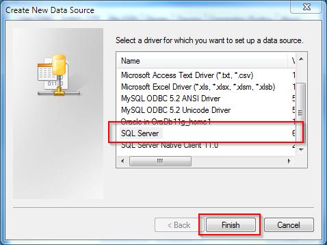 Configure ODBC Driver - Metadata Server - SuperSTAR 9